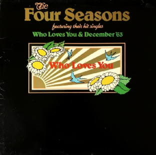 Four Seasons (The) ‎- Who Loves You (LP) (EX/G++)